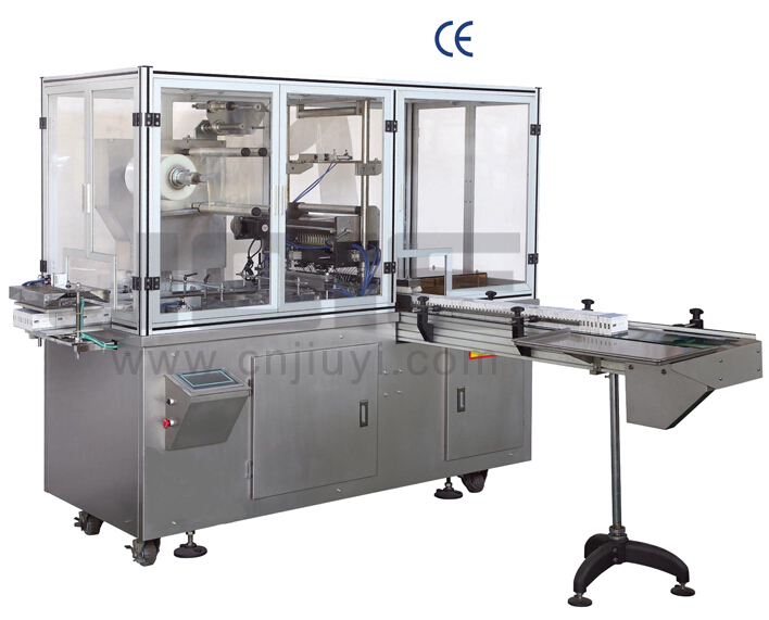 JE-400C overwrapping machine