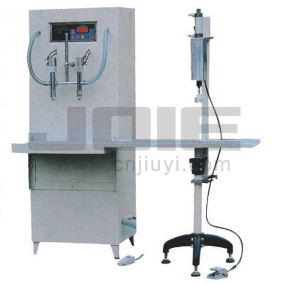 JEA-1000 Liquid filler with capping machine