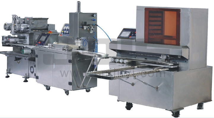 Automatic mooncake/maamoul biscuit production line