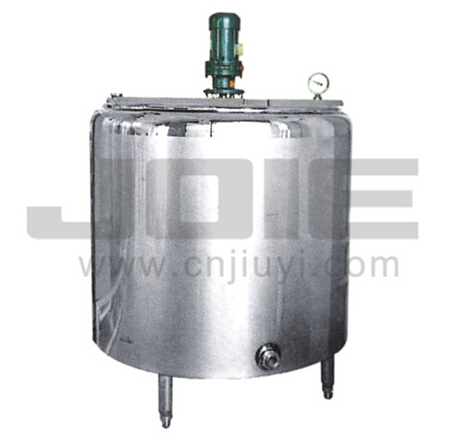 Aging/boiling tank