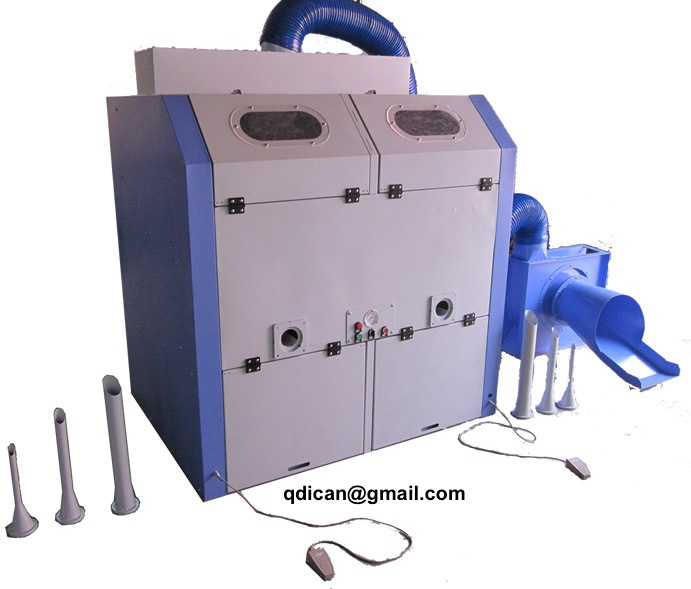 Plush toy stuffing machine for teddy bear soft toy filling