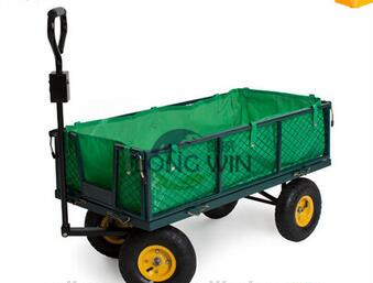 North America steel mesh garden cart