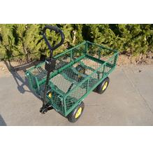 TUV verified Heavy Duty Cheap Folding Steel Mesh Garden Tool Cart