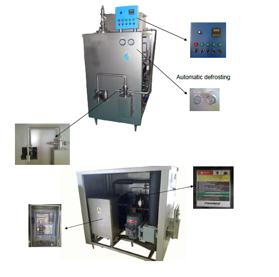 Ice cream Stainless Steel Freezer 300L/600L