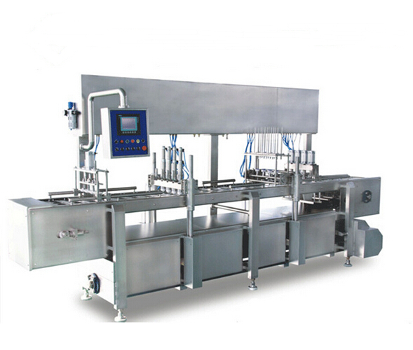 Ice cream filling machine straight type