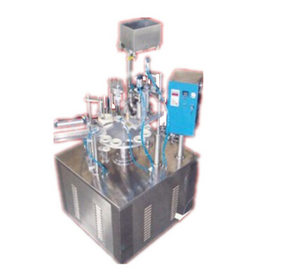 Ice cream filling machine round type