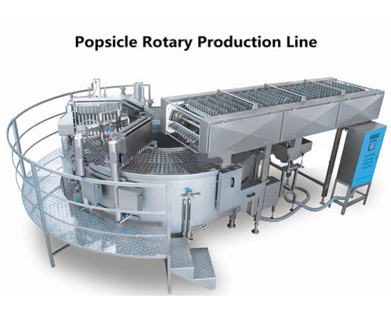 Popsicle Rotary Production Line