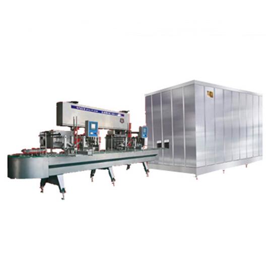Ice cream extrusion machine