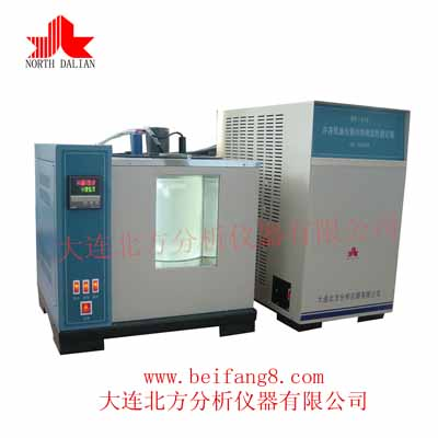 BF-164 Tester for frozen oil and refrigerant inter-miscibility