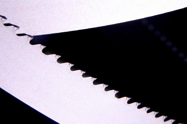 Carbide tipped band saw blade