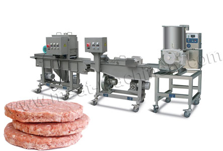 100kg/h Burger Patty Production Line