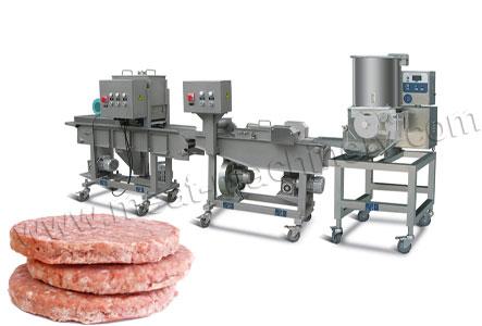 100kg/h Burger Patty Production Line