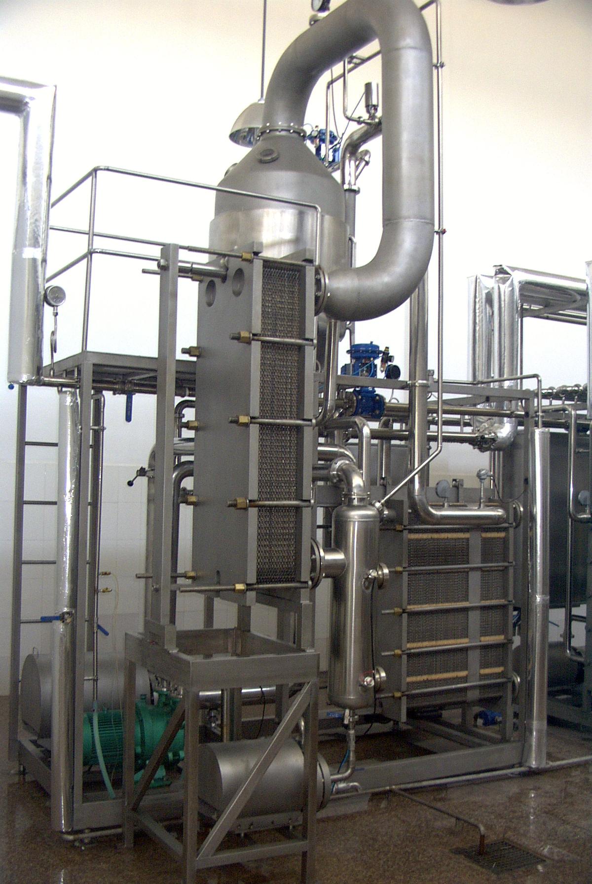 Milk Vacuum Evaporator