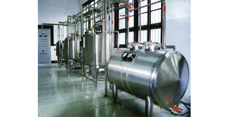 small dairy process line