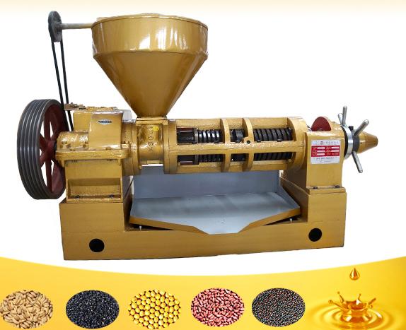 Spiral oil press