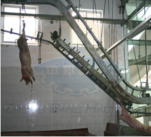 Pig Carcass Transportation Conveyor machine for pig slaughter house
