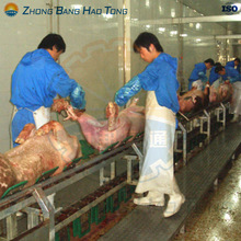 Pre-Skinning Conveyor for pig slaughtering machine line