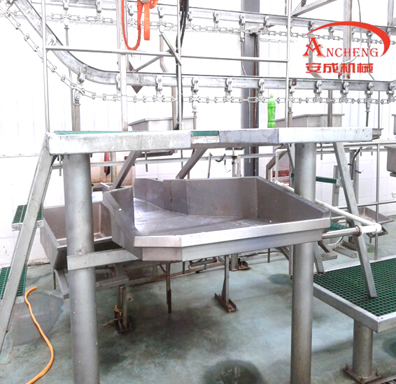 Complete Automatic Pig Slaughter Line Pork Production Line