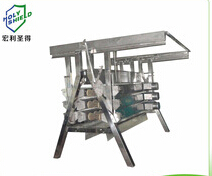 MS-TFJ-60A frame vertical poultry fine feather removal machine