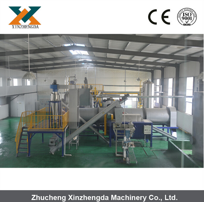 Commercial Small Slaughter House Bird feather rendering process line
