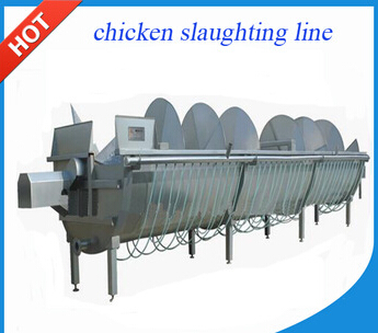 Small Broiler Chicken Slaughtering Production Line / Chicken Slaughter Machine