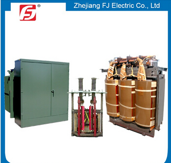Outdoor three phase pad mounted transformer 100kva 6000 v-4 with substation china