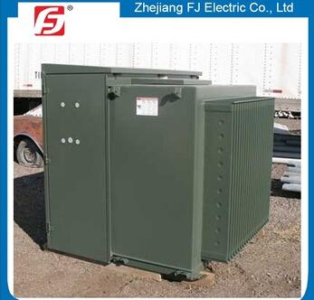 Europ popular ONAN three phase 35/0.4kv 1250kva pad mounted transformer