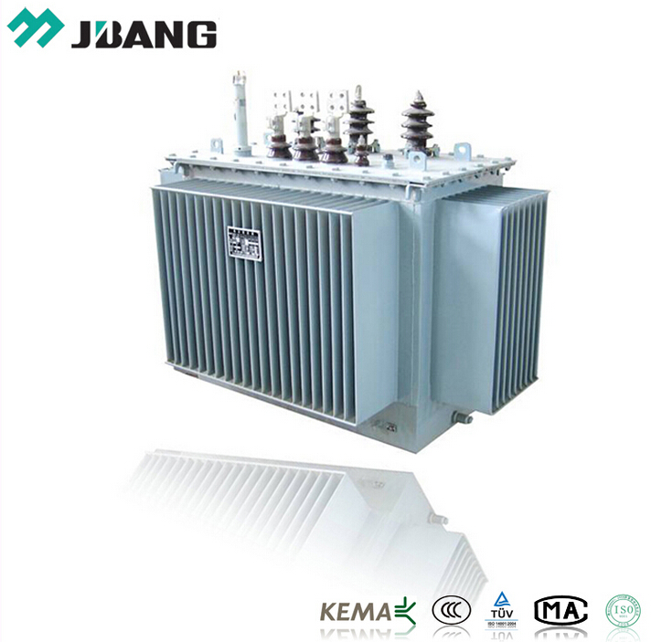 Three-phases Double-winding Oil Immersed Power Distribution Transformer 30KV/0.4KV 100KVA Outdoor Use