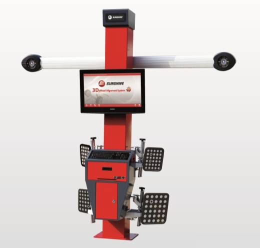 3D WHEEL ALIGNMENT MACHINE  SP-G7
