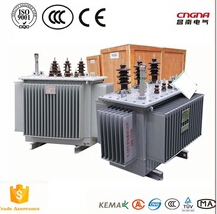 S11-M-315KVA oil immersed transformer 33KV/0.4 three phase transformer