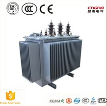 high quality 630KVA 33KV/0.4 oil immersed transformer