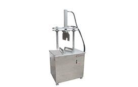 Pig head hydraulic splitting machine