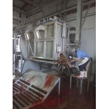 slaughterhouse equipment for cattle ritural halal slaughter house slaughtering machine killing box