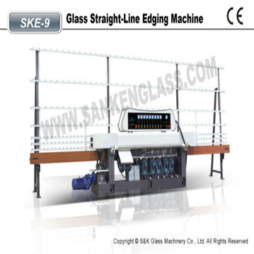 glass flat edging machine