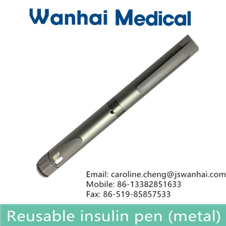 Metal of insulin pen