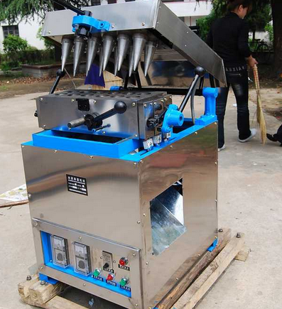 New type stainless steel commercial ice cream cone baking machine