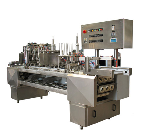 Automatic stainless steel ice cream filling machine