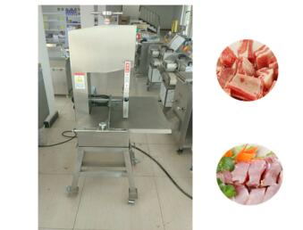 Stainless Steel Cutting Frozen Meat Saw Machine