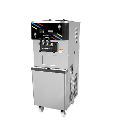 High-end commercial ice cream machine with DW new system
