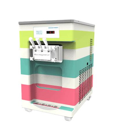 Colorful Large capacity soft ice cream machine