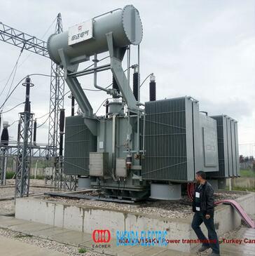 EACHER 35MVA/69KV two windings Toroidal Power transformer
