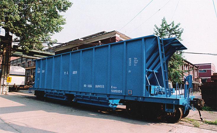railway open top hopper tank flat wagons railcar railway rolling stocks