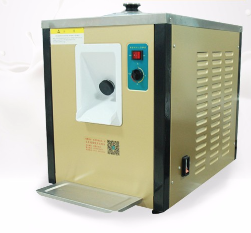 Industrial table top hard ice cream machine