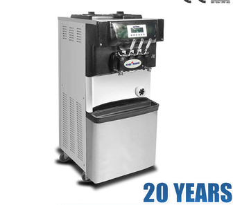 High quality soft ice cream machine with pre-cooling system