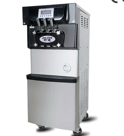 mixed flavors ice cream machine with CE approved