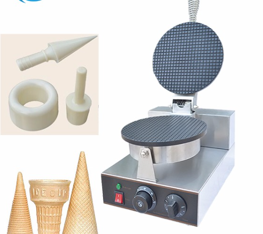 electric  stainless steel  ice cream cone machine