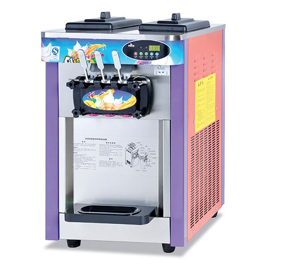 Commercial 3 flavor ice cream machine