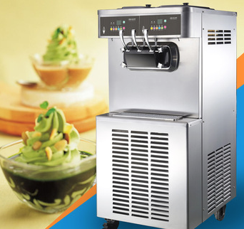 commercial ice cream machine with air pump