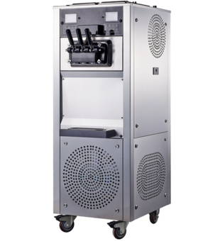 55L/h Liquid Ice Cream Machine Soft Serve Freezer