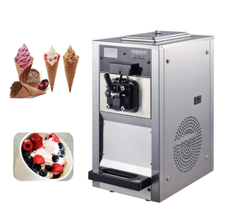 38L/h Commercial Soft Ice Cream Frozen Machine